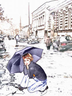 Converted to a Very Stylish Digital Painting