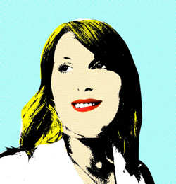 Converted to a Funky High Colour Pop Art Design